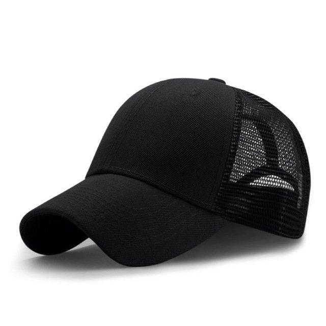 New Summer Sport Mesh Baseball Caps Men or Women Outdoor Snapback Bone Breathable Hats Z-6273 19