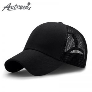 Adult Mesh Cap Hat Adjustable for Men Women Unisex,Print Flamingo