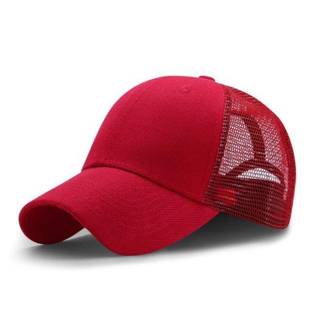 New Summer Sport Mesh Baseball Caps Men or Women Outdoor Snapback Bone Breathable Hats Z-6273 13