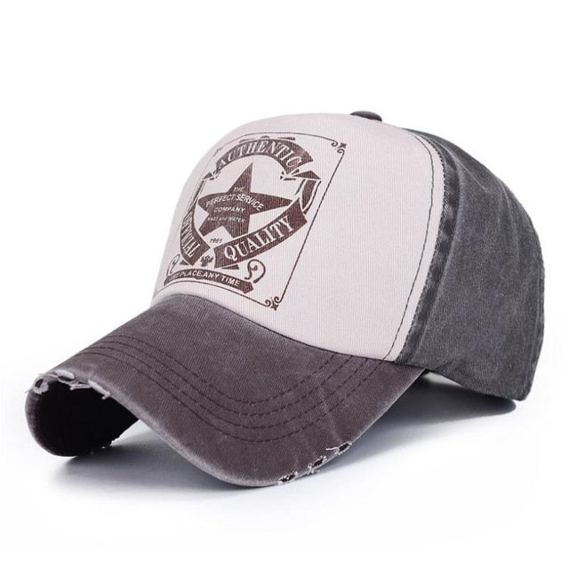 [AETRENDS] 6 Colors ! Star Patchwork Baseball Cap Men or Women Polo Hats Z-1462 21