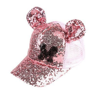 Hot Sequins Ear Hats Kids Snapback Baseball Cap With Ears Funny Hats Spring Summer Hip Hop Boy Hats Caps 17