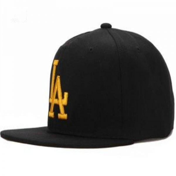 BONJEAN New Ladybro LA Baseball Cap adjustable Street Skateboard Hip hop Bone Cap Falt Hat Men Women Snapback Cap free shipping 2