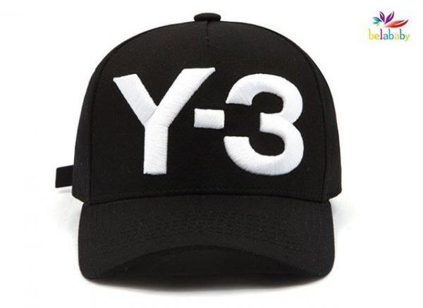 Belababy New Y-3 Dad Hat Big Bold Embroidered Logo Hip Hop Baseball Cap Adjustable Strapback Hats Y3 16