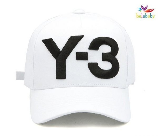 Belababy New Y-3 Dad Hat Big Bold Embroidered Logo Hip Hop Baseball Cap Adjustable Strapback Hats Y3 18
