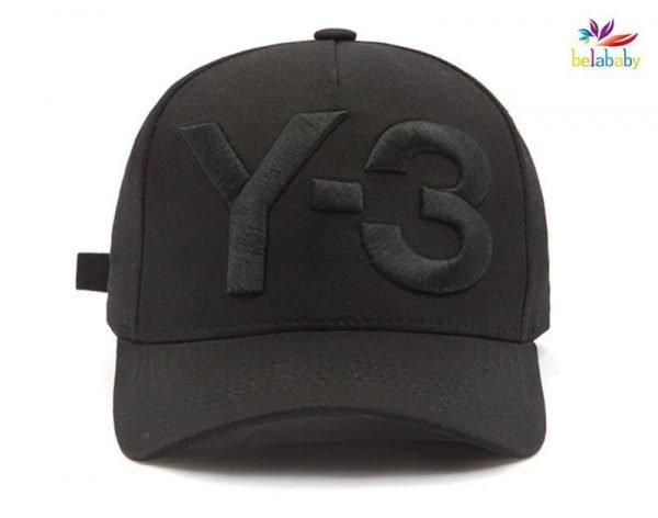 Belababy New Y-3 Dad Hat Big Bold Embroidered Logo Hip Hop Baseball Cap Adjustable Strapback Hats Y3 8