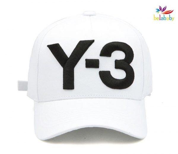 Belababy New Y-3 Dad Hat Big Bold Embroidered Logo Hip Hop Baseball Cap Adjustable Strapback Hats Y3 10