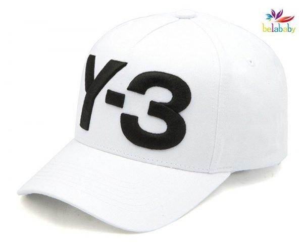 Belababy New Y-3 Dad Hat Big Bold Embroidered Logo Hip Hop Baseball Cap Adjustable Strapback Hats Y3 12
