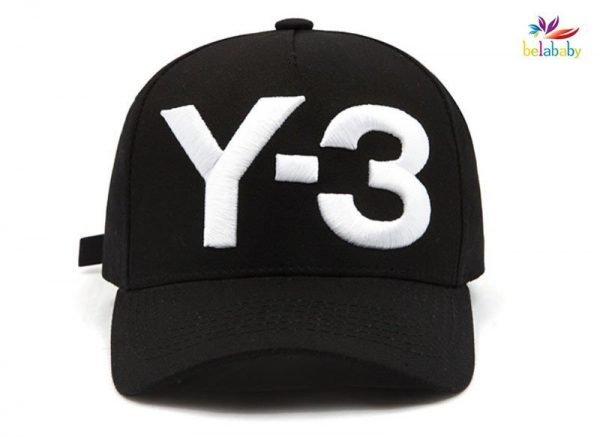 Belababy New Y-3 Dad Hat Big Bold Embroidered Logo Hip Hop Baseball Cap Adjustable Strapback Hats Y3 2