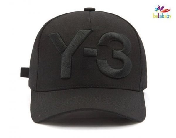 Belababy New Y-3 Dad Hat Big Bold Embroidered Logo Hip Hop Baseball Cap Adjustable Strapback Hats Y3 14