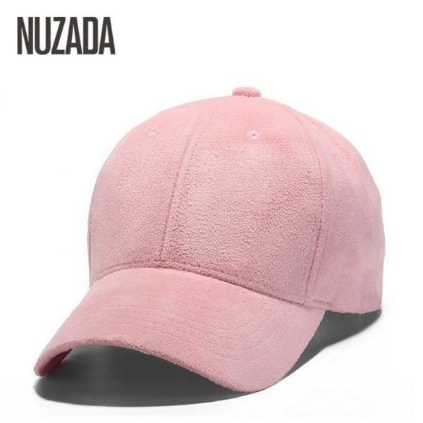 Brand NUZADA Winter Autumn Thickening Suede Fabric Men Women Baseball Caps High Grade Cotton Hip Hop Cap Hats Bone Snapback 4