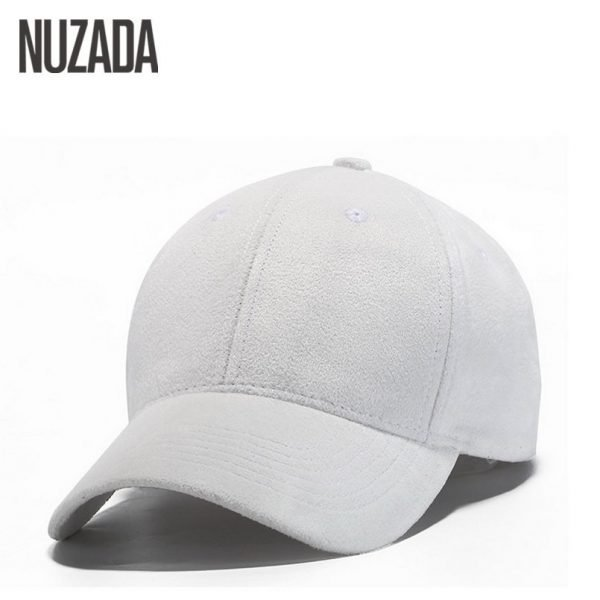 Brand NUZADA Winter Autumn Thickening Suede Fabric Men Women Baseball Caps High Grade Cotton Hip Hop Cap Hats Bone Snapback 6