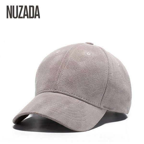 Brand NUZADA Winter Autumn Thickening Suede Fabric Men Women Baseball Caps High Grade Cotton Hip Hop Cap Hats Bone Snapback 18