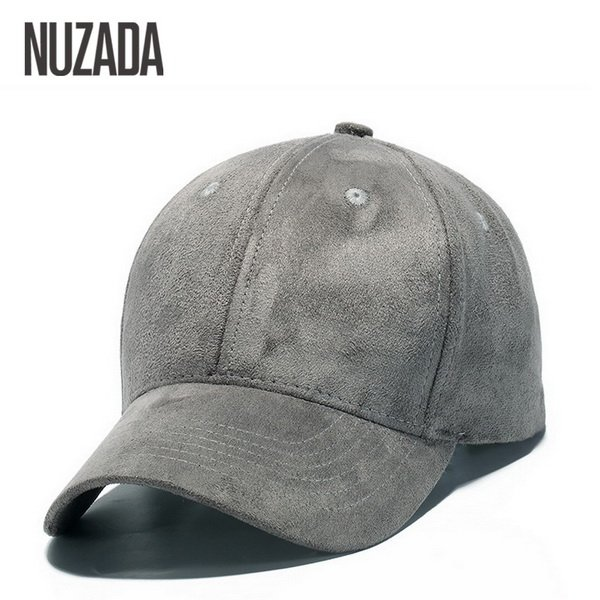 Brand NUZADA Winter Autumn Thickening Suede Fabric Men Women Baseball Caps High Grade Cotton Hip Hop Cap Hats Bone Snapback 20