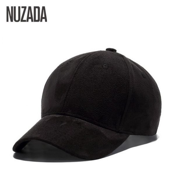 Brand NUZADA Winter Autumn Thickening Suede Fabric Men Women Baseball Caps High Grade Cotton Hip Hop Cap Hats Bone Snapback 10