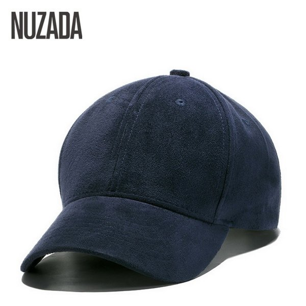 Brand NUZADA Winter Autumn Thickening Suede Fabric Men Women Baseball Caps High Grade Cotton Hip Hop Cap Hats Bone Snapback 22