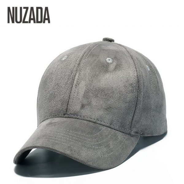 Brand NUZADA Winter Autumn Thickening Suede Fabric Men Women Baseball Caps High Grade Cotton Hip Hop Cap Hats Bone Snapback 12