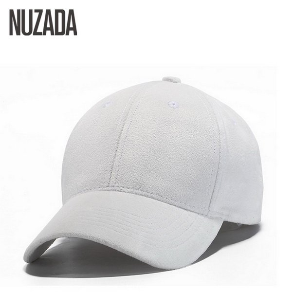 Brand NUZADA Winter Autumn Thickening Suede Fabric Men Women Baseball Caps High Grade Cotton Hip Hop Cap Hats Bone Snapback 14