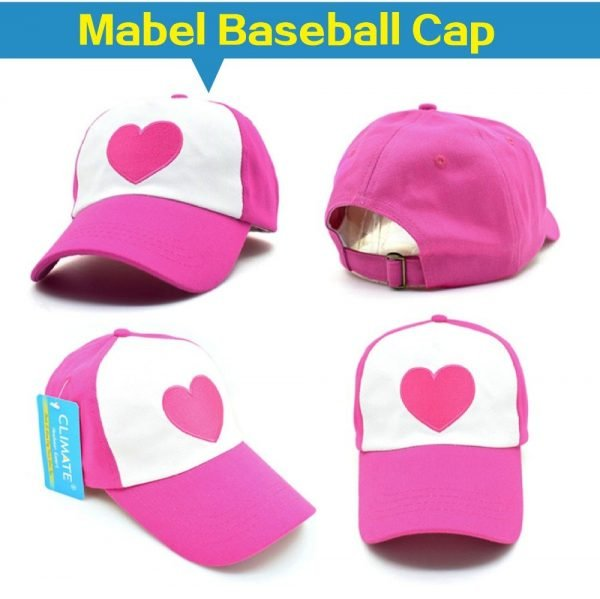 New Spring Summer Gravity Falls U.S Cartoon Mabel Dipper Pines Cosplay Cool Baseball Mesh Caps Adjustable Sport Hat 12