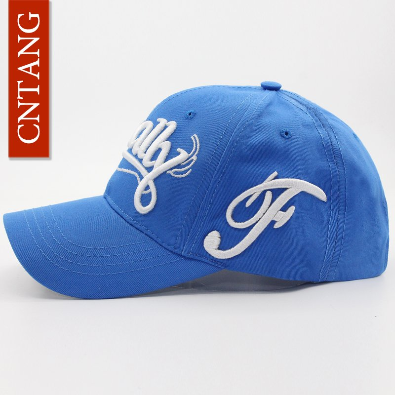 Men Cotton Baseball Cap Embroidery Letter Fashion Snapback Casual Brand Hat For Women Summer Caps High Quality 9