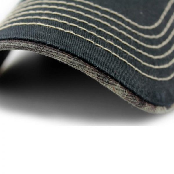 Embroidery fish Black unisex casual brand baseball hats men fashion fish bone pattern baseball caps snapback hat 2017 12