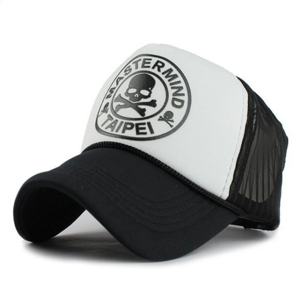 FETSBUY Casual Unisex Skull mesh Baseball Cap Summer Casquette Snapback Gorras Planas Baseball Cap Men Fitted Hats Caps 16