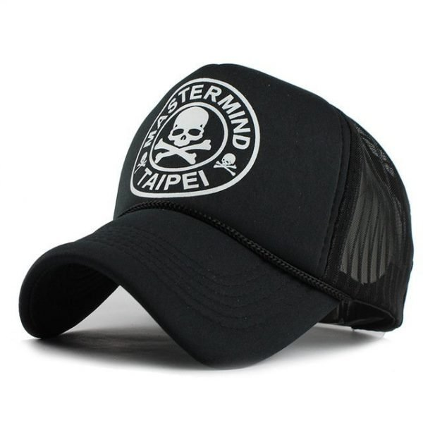 FETSBUY Casual Unisex Skull mesh Baseball Cap Summer Casquette Snapback Gorras Planas Baseball Cap Men Fitted Hats Caps 14