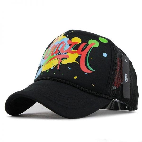 [FLB] 12 Styles Unisex Acrylic 5 panels Adjustable Baseball Cap Summer mesh caps Snapback Baseball Cap Men Fitted Hats Caps 12
