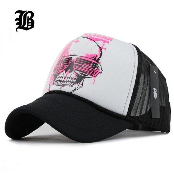 [FLB] 12 Styles Unisex Acrylic 5 panels Adjustable Baseball Cap Summer mesh caps Snapback Baseball Cap Men Fitted Hats Caps 2