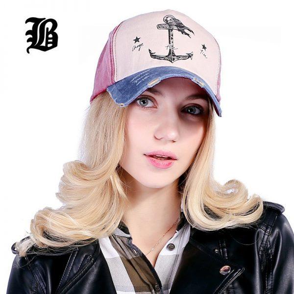 [FLB] 5 panel hip hop snapback hats couples hat Man Woman pure cotton baseball caps do old pirate ship anchor gorras wash cap 6