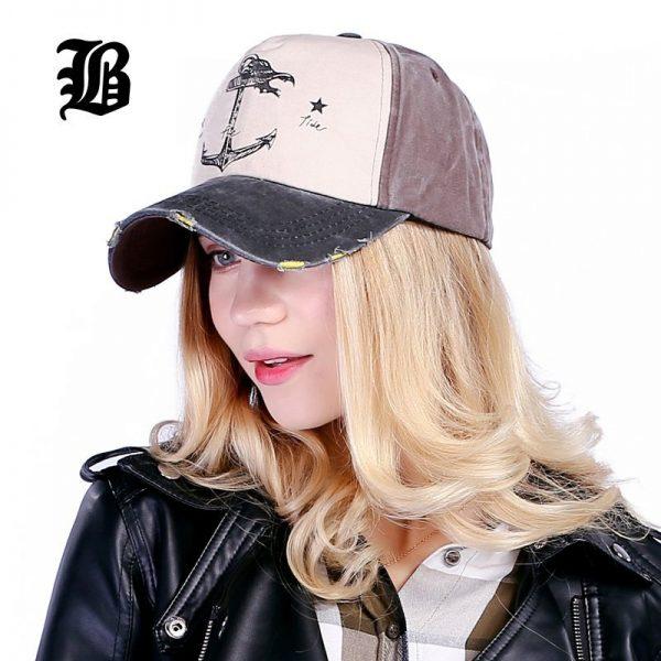 [FLB] 5 panel hip hop snapback hats couples hat Man Woman pure cotton baseball caps do old pirate ship anchor gorras wash cap 10