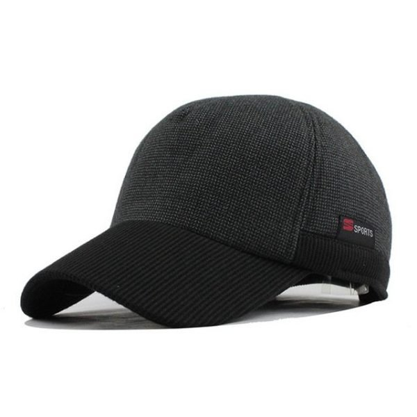 [FLB] Warm Winter Thickened Baseball Cap Men'S Cotton Hat Snapback Winter Hats Ear Flaps For Men Women Hat Wholesale F240 16