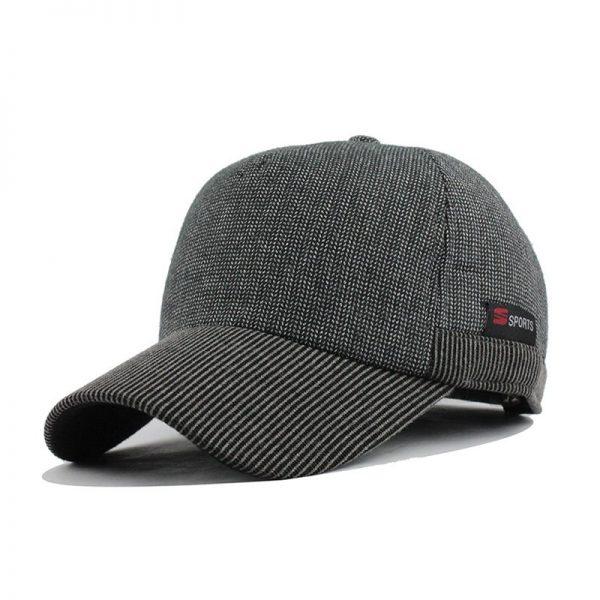 [FLB] Warm Winter Thickened Baseball Cap Men'S Cotton Hat Snapback Winter Hats Ear Flaps For Men Women Hat Wholesale F240 6