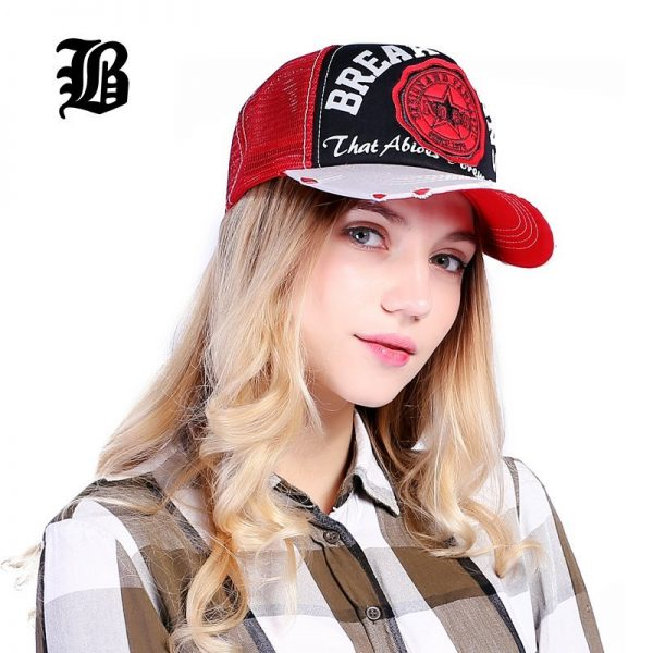 [FLB] Wholesale Baseball Cap summer snapback hats casquette embroidery letter cap bone girl hats for women men Trucker cap F247 4