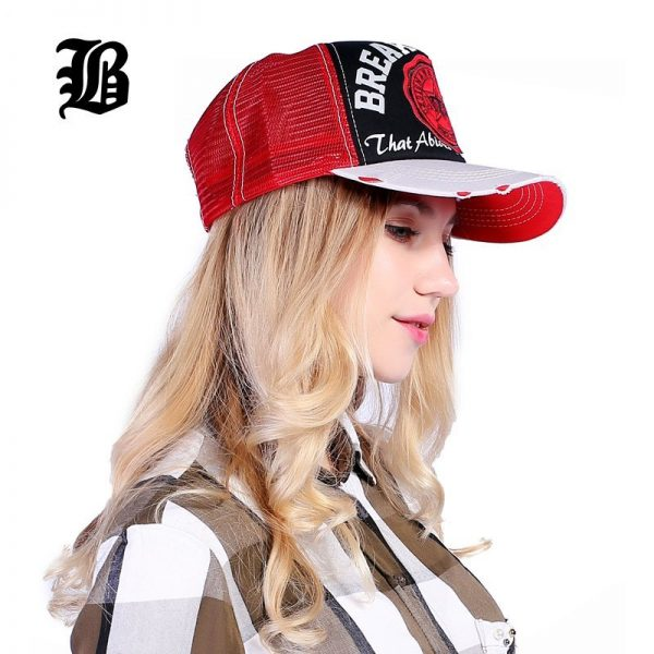 [FLB] Wholesale Baseball Cap summer snapback hats casquette embroidery letter cap bone girl hats for women men Trucker cap F247 6