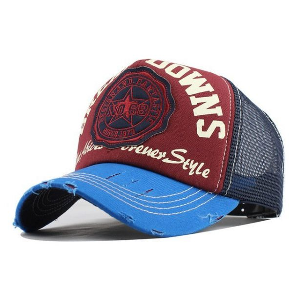 [FLB] Wholesale Baseball Cap summer snapback hats casquette embroidery letter cap bone girl hats for women men Trucker cap F247 18