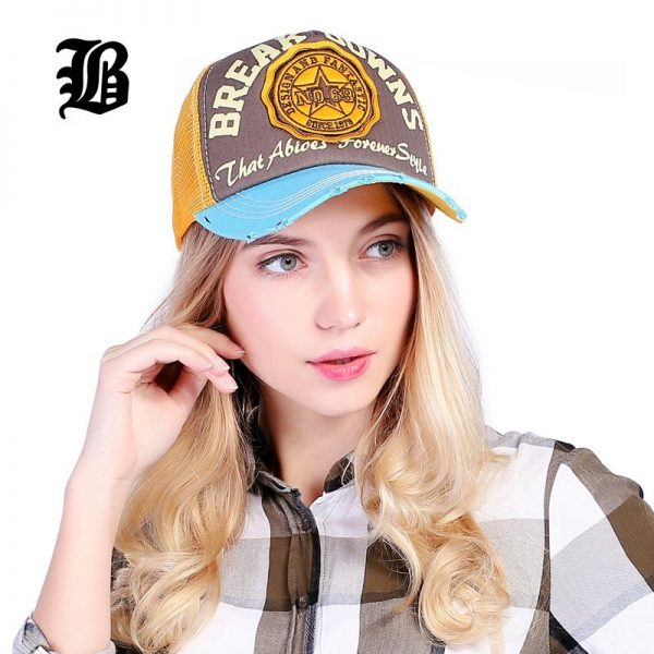 [FLB] Wholesale Baseball Cap summer snapback hats casquette embroidery letter cap bone girl hats for women men Trucker cap F247 8