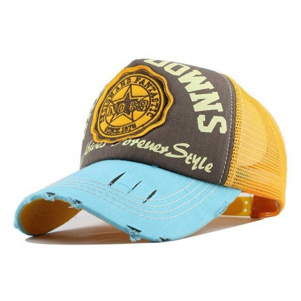 [FLB] Wholesale Baseball Cap summer snapback hats casquette embroidery letter cap bone girl hats for women men Trucker cap F247 20