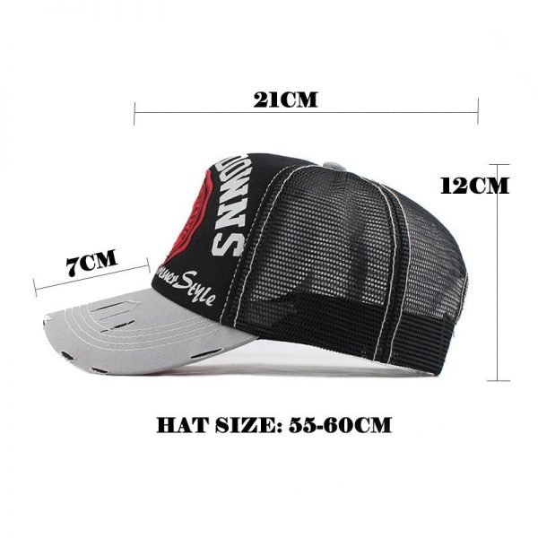 [FLB] Wholesale Baseball Cap summer snapback hats casquette embroidery letter cap bone girl hats for women men Trucker cap F247 10