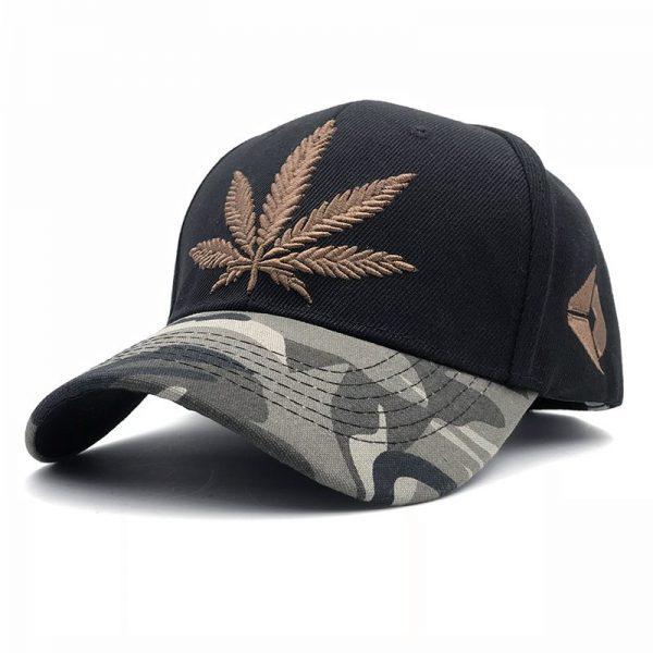 Fashion Weed Snapback Caps Hats Hip Hop Baseball Cap Strapback Men Women Bone Aba Reta Gorras Homme Casquette Weed Leaf Snapback 4