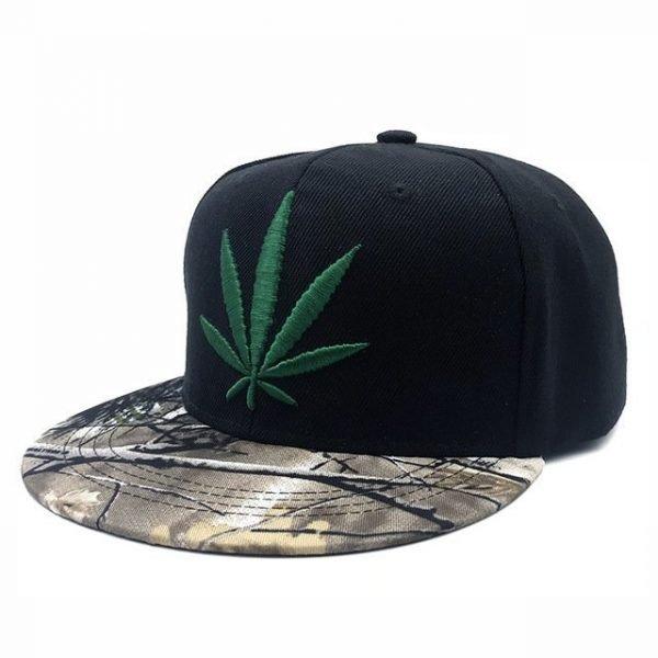 Fashion Weed Snapback Caps Hats Hip Hop Baseball Cap Strapback Men Women Bone Aba Reta Gorras Homme Casquette Weed Leaf Snapback 16