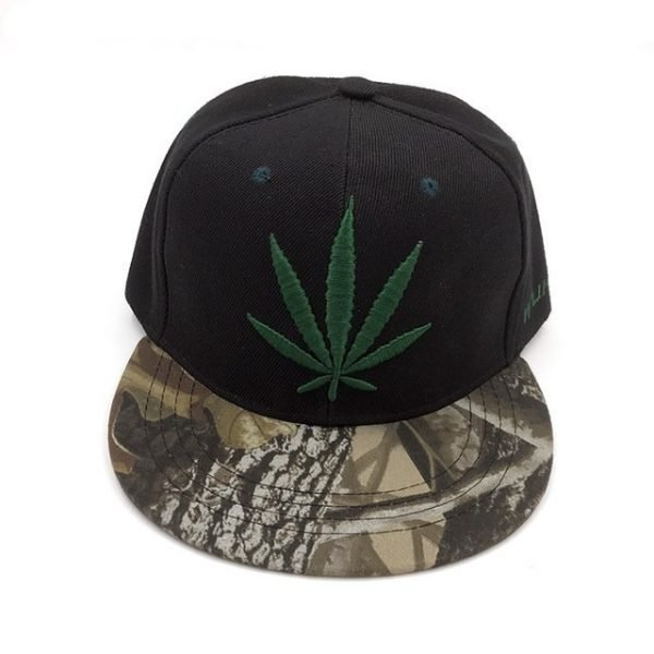 Fashion Weed Snapback Caps Hats Hip Hop Baseball Cap Strapback Men Women Bone Aba Reta Gorras Homme Casquette Weed Leaf Snapback 14