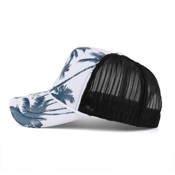 Feitong Fashion Women Baseball Cap Men Casquette Snapback Caps Hats For Women Men Brand Bones Printing Adjustable Mesh Cap New 8