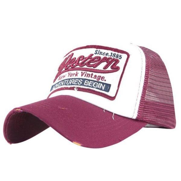 Feitong Summer Baseball Cap For Men Women Embroidered Mesh Hats Gorras Hombre Hats Casual Hip Hop Caps Dad Casquette Trucker Hat 24