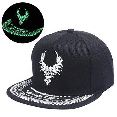 Graffiti Baseball Cap Hip Hop Fluorescent Light Snapback Caps Men Casquette Women Girl Noctilucence Hats Boy Luminous 2