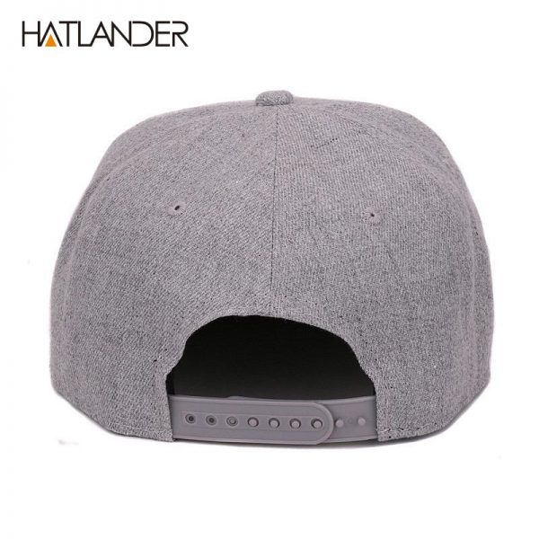 [HATLANDER] Raised flag embroidery cool flat bill baseball cap mens gorras snapbacks 3D flag hat ourdoor hip hop snapback caps 10