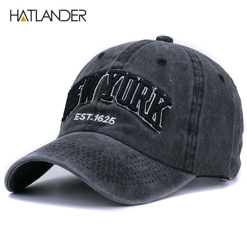 Kobe Cap Baseball Vintage Cotton Washed Printed Hats Adjustable Dad-Hat