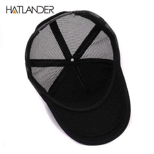 Hatlander cute children baseball caps baby girls sun visor hats boys snapback casquette gorras cartoon duck kids summer mesh cap 8