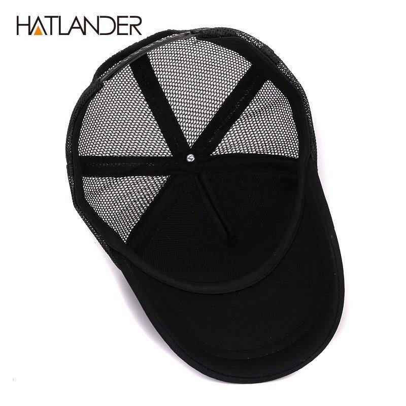 Hatlander cute children baseball caps baby girls sun visor hats boys snapback casquette gorras cartoon duck kids summer mesh cap 7