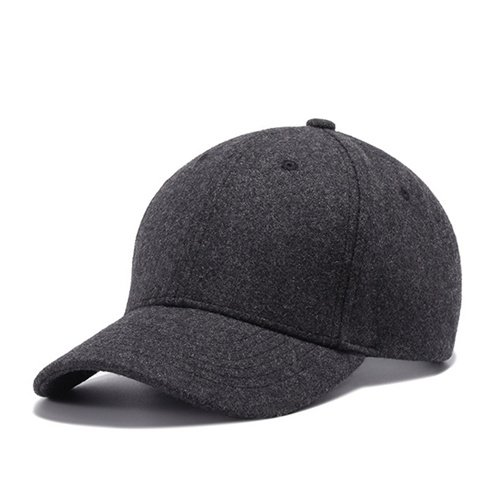 High Quality Solid Winter Baseball Cap Men Bone Trucker Hat Gorras Planas Snapback Hip Hop Dad Cap For Winter Size 55-60cm 16