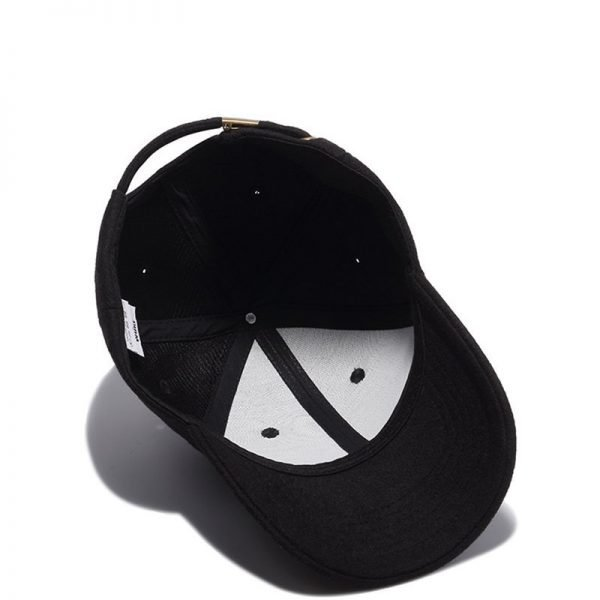 High Quality Solid Winter Baseball Cap Men Bone Trucker Hat Gorras Planas Snapback Hip Hop Dad Cap For Winter Size 55-60cm 8